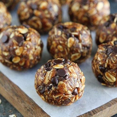 Pumpkin Chip Energy Balls
