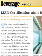 LEED certification aims for energy effic