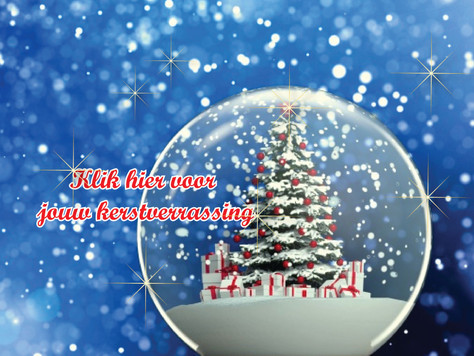 Kerst bij Noefy & verrassing