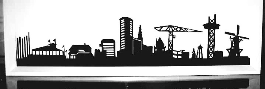 Papercut Customized Skyline