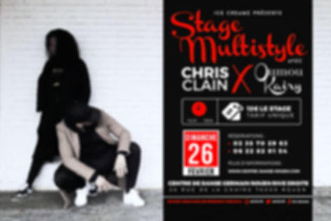 Stage danse multistyle rouen