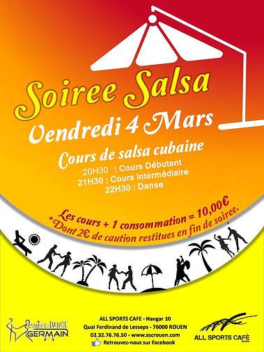 Ecole danse rouen germain blanchet salsa