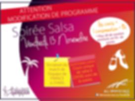 Soirée salsa cubaine a rouen ecole de danse germain Laetitia blanchet