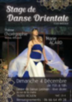 Stage danse orientale rouen