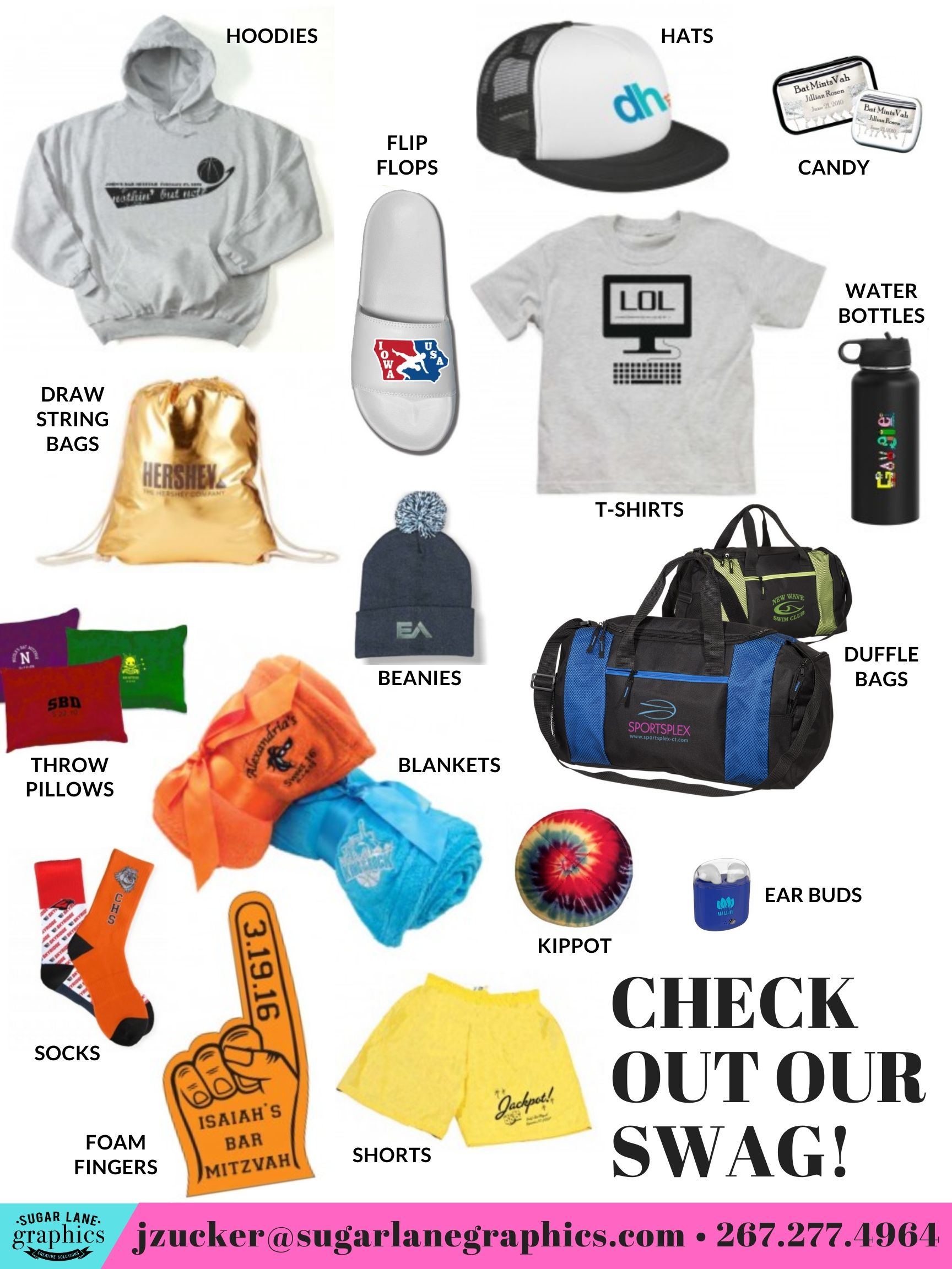 Event Favors & Swag