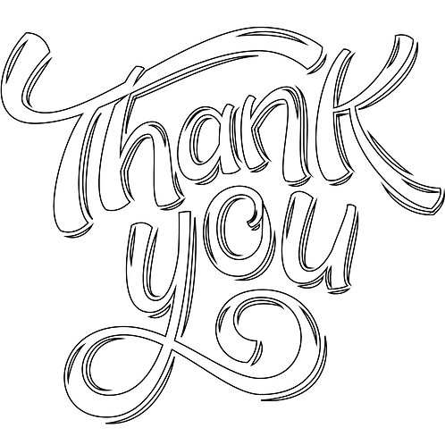 Print-at-Home Sign: Thank You