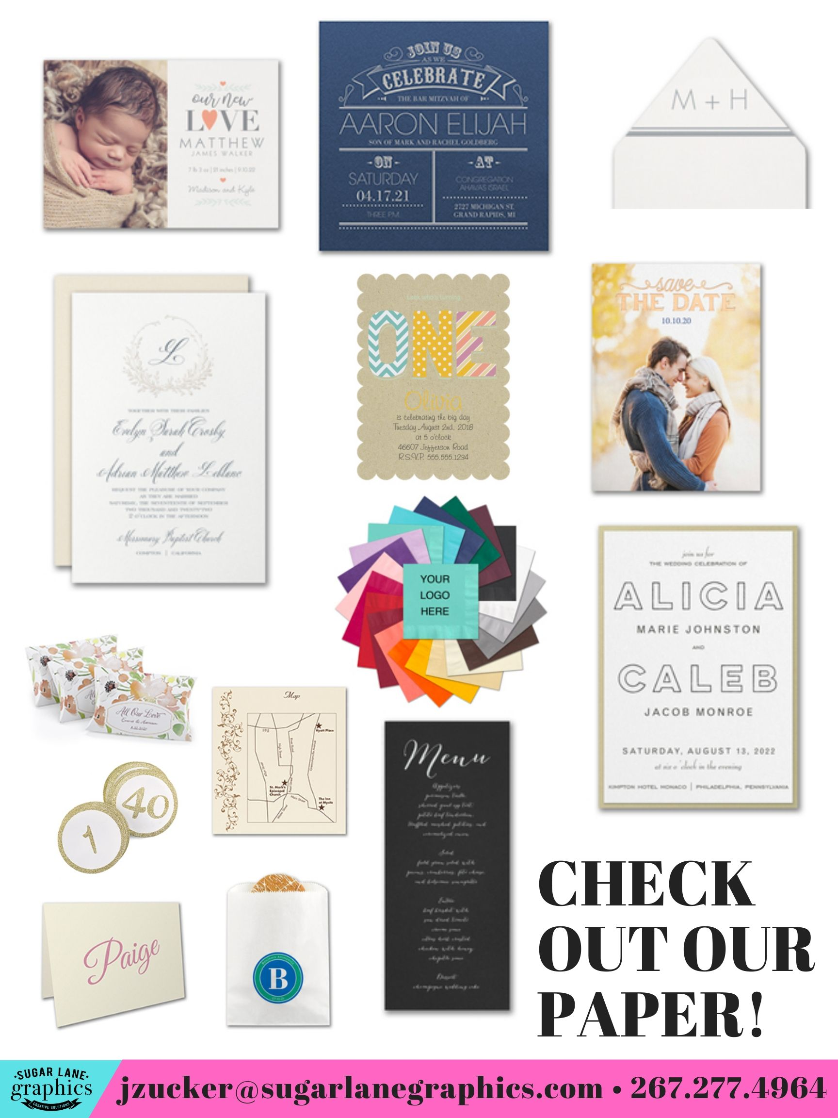 Custom Social Stationery