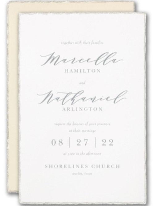 Custom Printed Invitations (starting at)