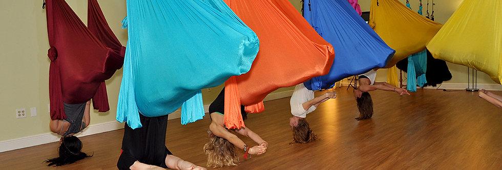 5 Pack Deluxe Aerial Yoga Hammock