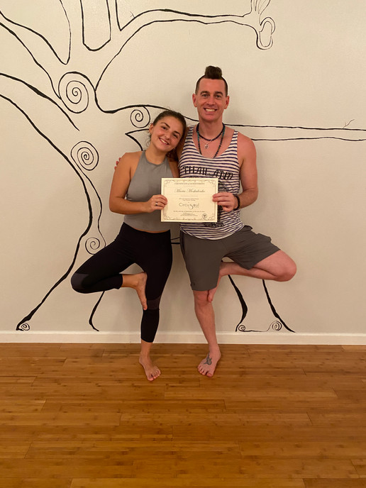 Yoga Teacher Training Graduate