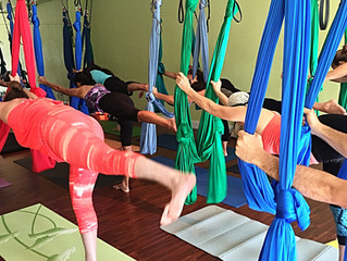 Delray Aerial Yoga Training