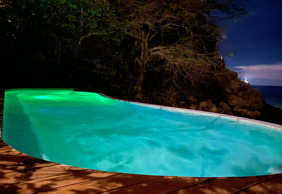 Pool Beachside Yoga Retreat