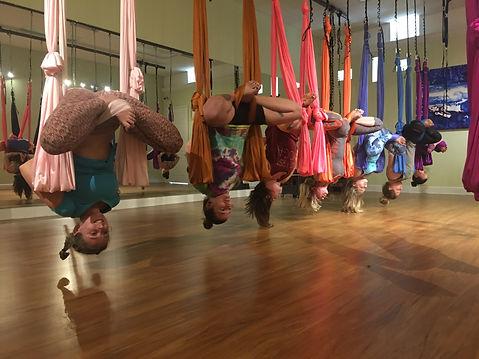 Aerial Yoga Hammock Kerry Tice
