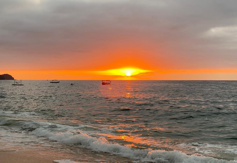 Sunset in Puerto Vallarta Mexico