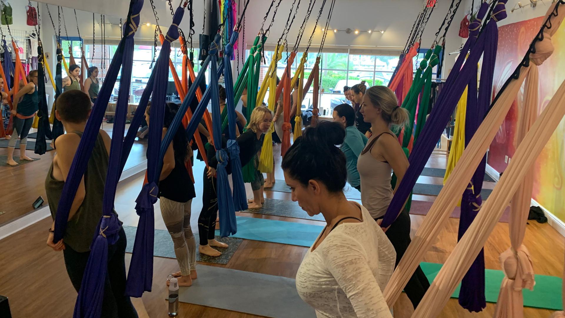 Aerial Yoga Studio Sarasota