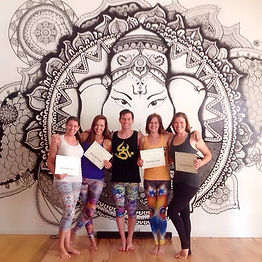 Certified Aerial Yoga Instrutors