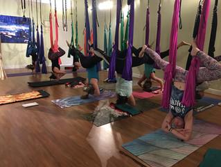 September Aerial Yoga Trainings