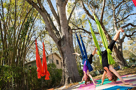 Aerial Yoga Training