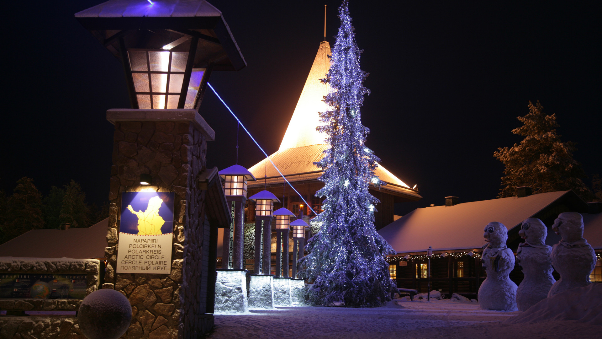 Arctic Circle at Santa Village
