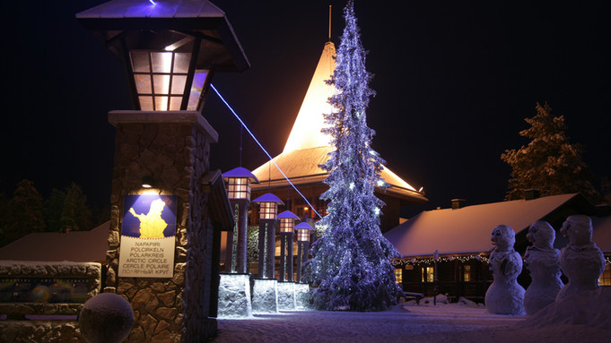 Arctic Circle at Santa Village