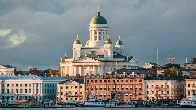 Helsinki White  Cathedral