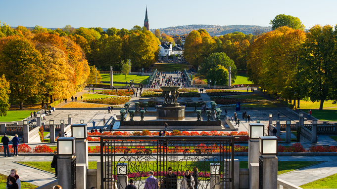 The Vigeland Frogner park