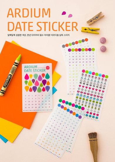 Date Sticker