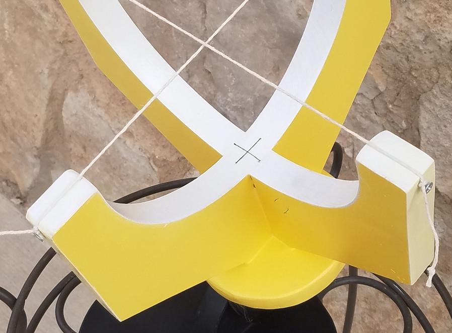 7in armillary yellow
