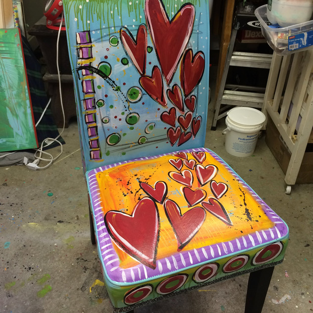 Cloth Upholstered Chair