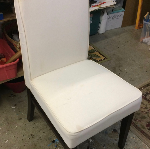 Cloth Upholstered Side Chair
