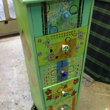 Funky Five Drawer piece