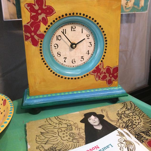 Upcycled Clock