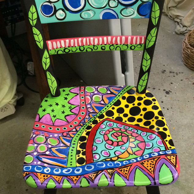 Funky Wooden Chair