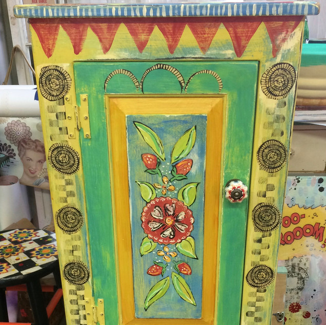 Tall Upcycled Cupboard