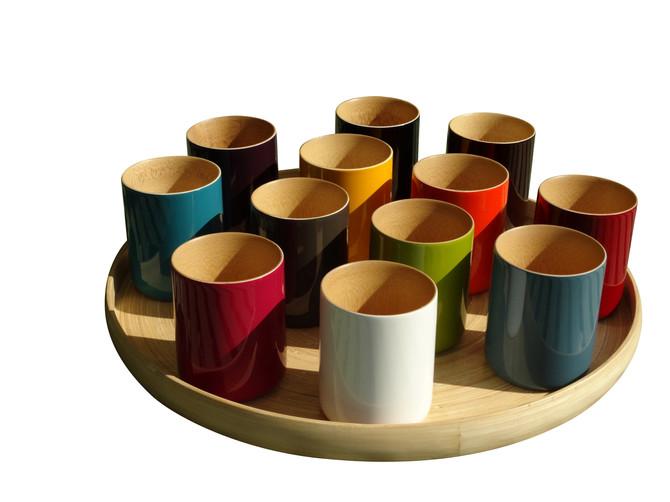 Nouveau une ligne Eco friendly en Bambou déclinée Mugs, Boites à Tisanes et Plateaux