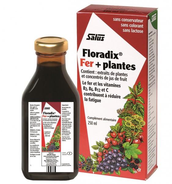 Le cocktail santé de l'hiver pour une santé de fer ! Floradix Fer + Plantes