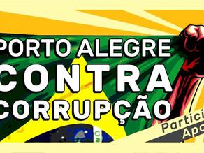 O combate contra a corrupção em Porto Alegre continua!