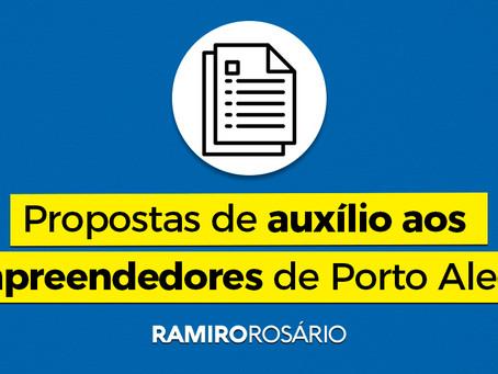 Vereador Ramiro sugere sete medidas de auxílio aos empreendedores de Porto Alegre
