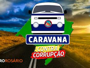Caravana Contra Corrupção pelo RS começa por Viamão