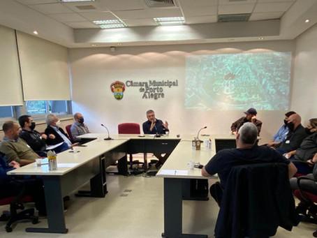 Reunião trata de novas regras de convivência para o bairro Moinhos de Vento