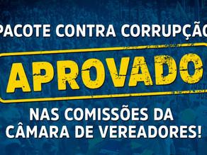 Pacote Anticorrupção é aprovado por unanimidade em comissões e já pode ir a plenário
