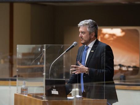 Ramiro defende desestatização da Usina do Gasômetro