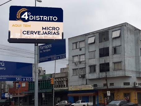 4º Distrito ganha projeto de identidade visual e fomento ao comércio local