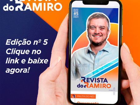 Revista do Ramiro - Número 5 - Agosto de 2021