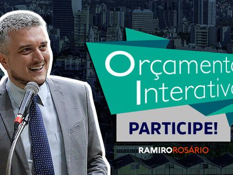 Ramiro recebe sugestões da população para investir R$ 1 milhão em Porto Alegre