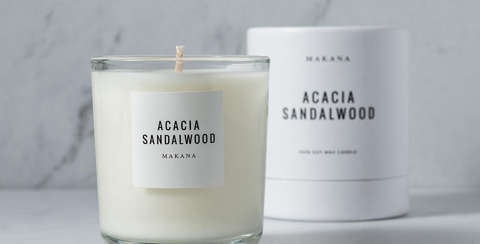 Acacia Sandalwood Classic Candle