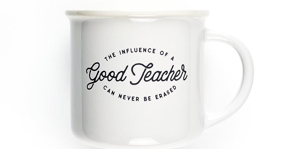 Teacher Influence Stoneware Coffee Mug