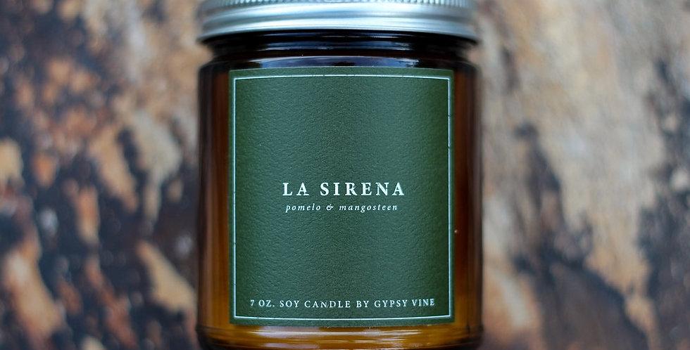 La Sirena Soy Candle
