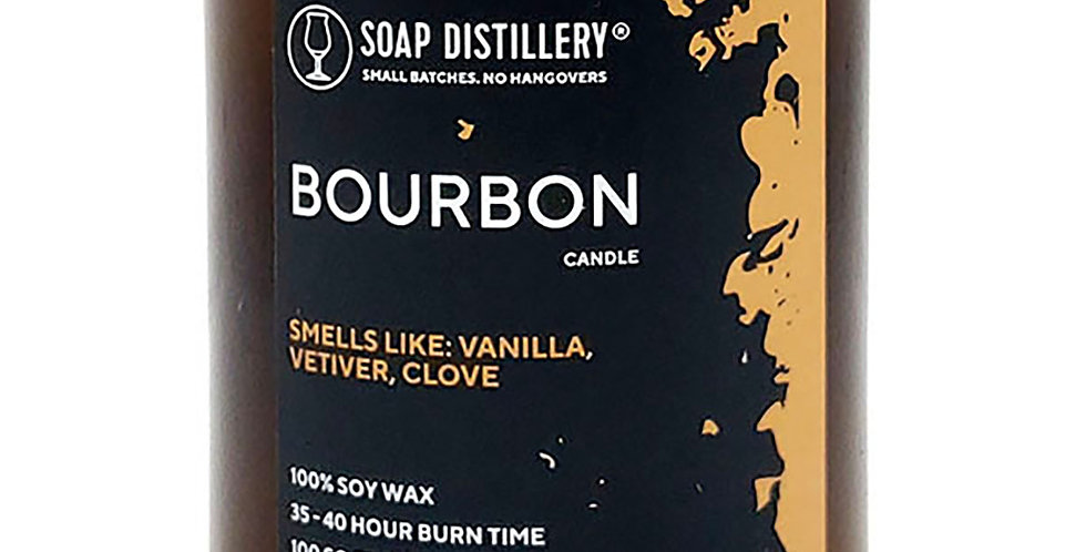 Bourbon Soy Wax Candle