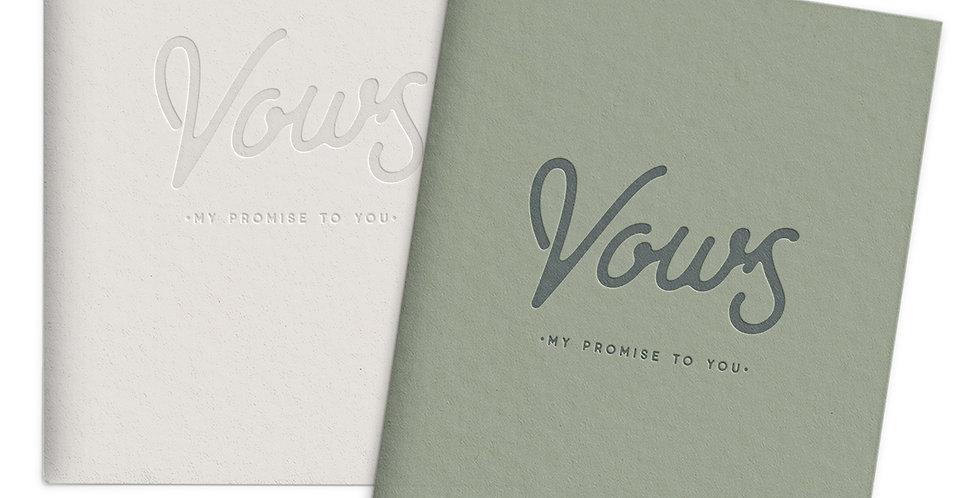 Wedding Vows Set of 2 Pocket Notebooks